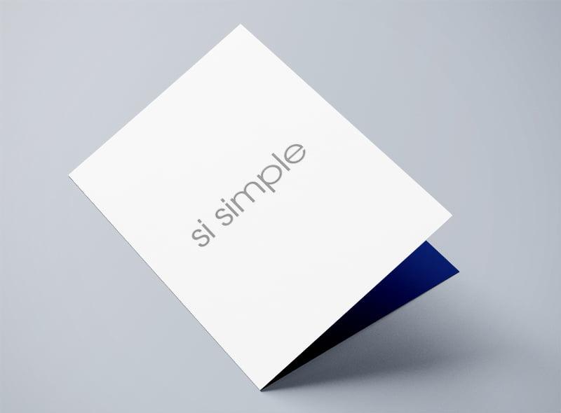 Conception graphique pochette Simpli-cité