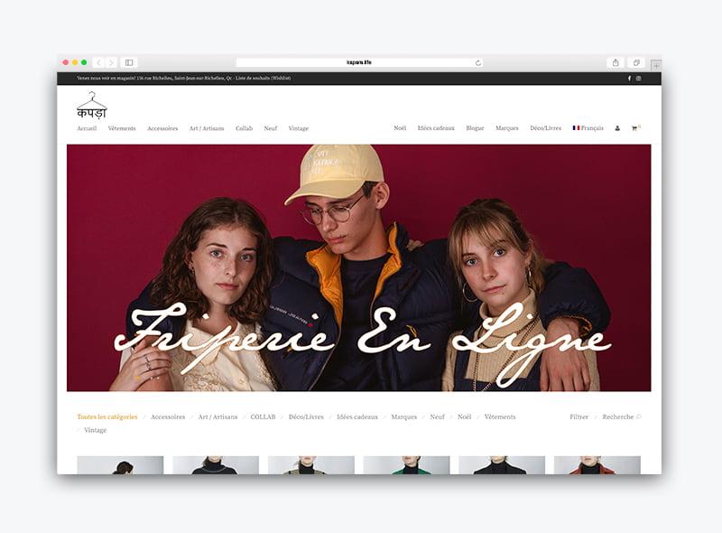 Création site web Kapara