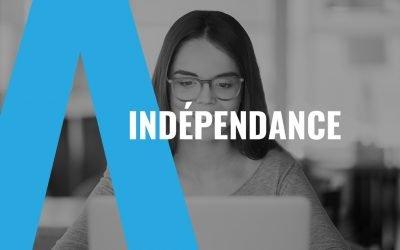 Indépendance sur le web