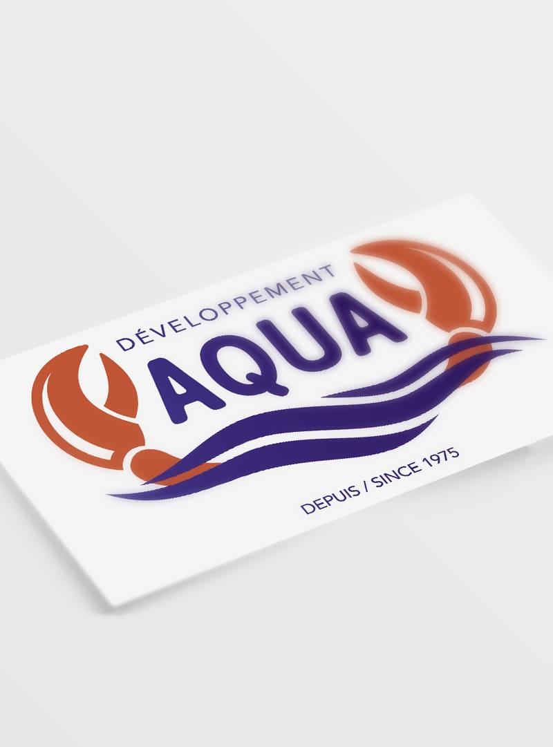 Aqua Développement - Création image de marque