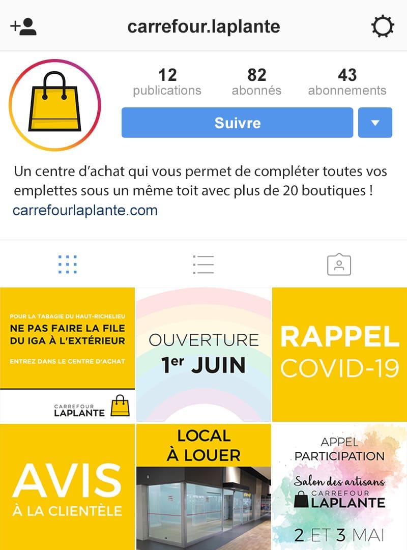 Carrefour Laplante - marketing numérique