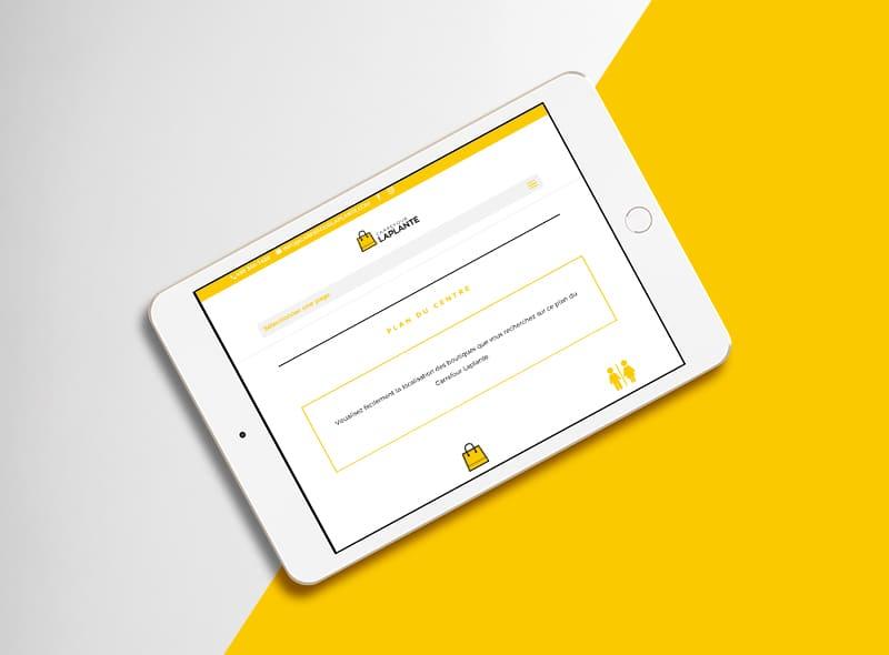 Carrefour Laplante - création web