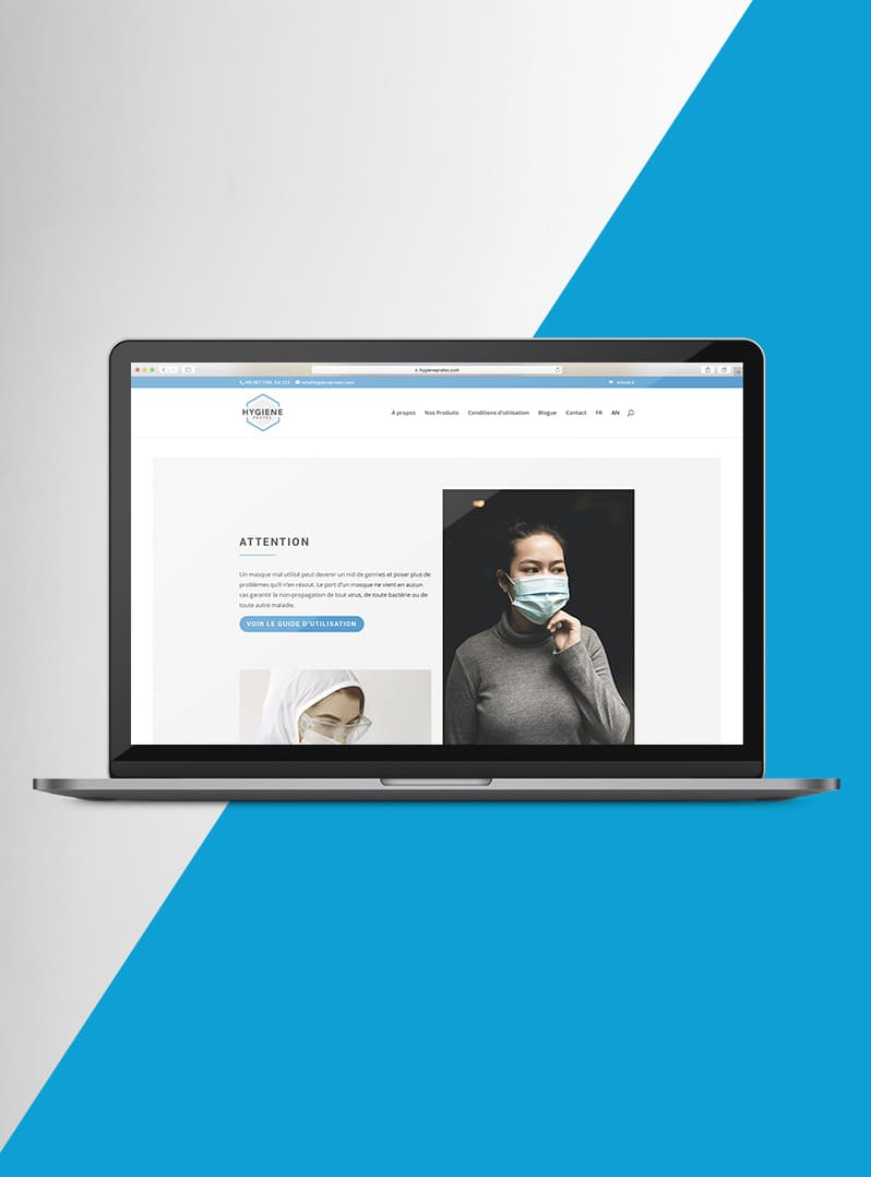 Hygiene Protec - création web