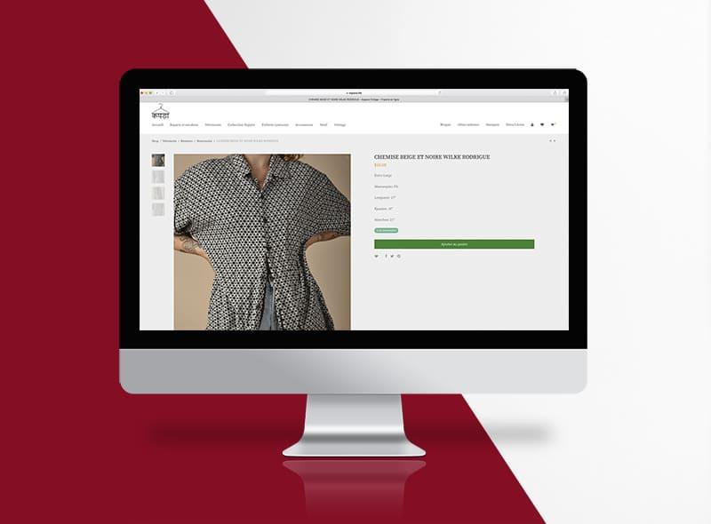 Kapara - création web