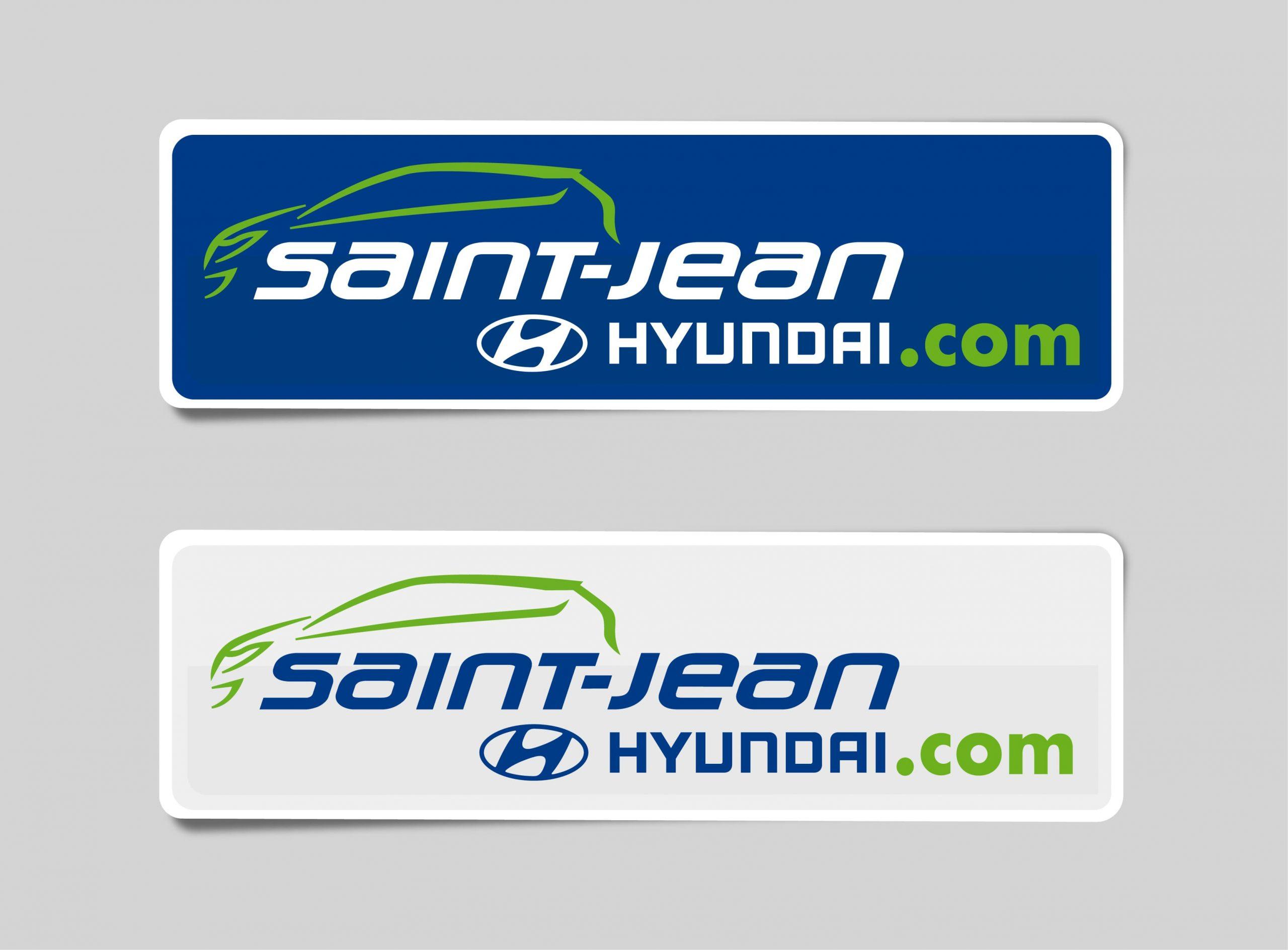 Autocollant Saint-Jean Hyundai