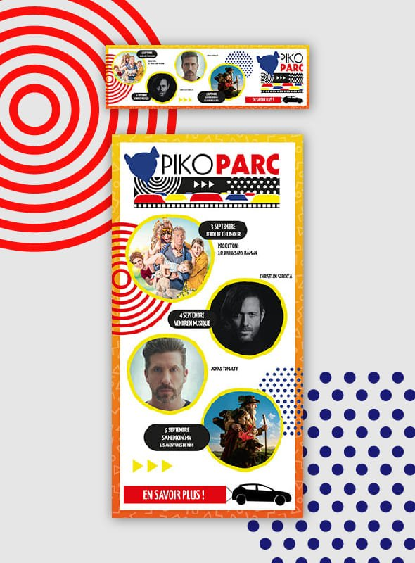 Placement Média - Piko Parc