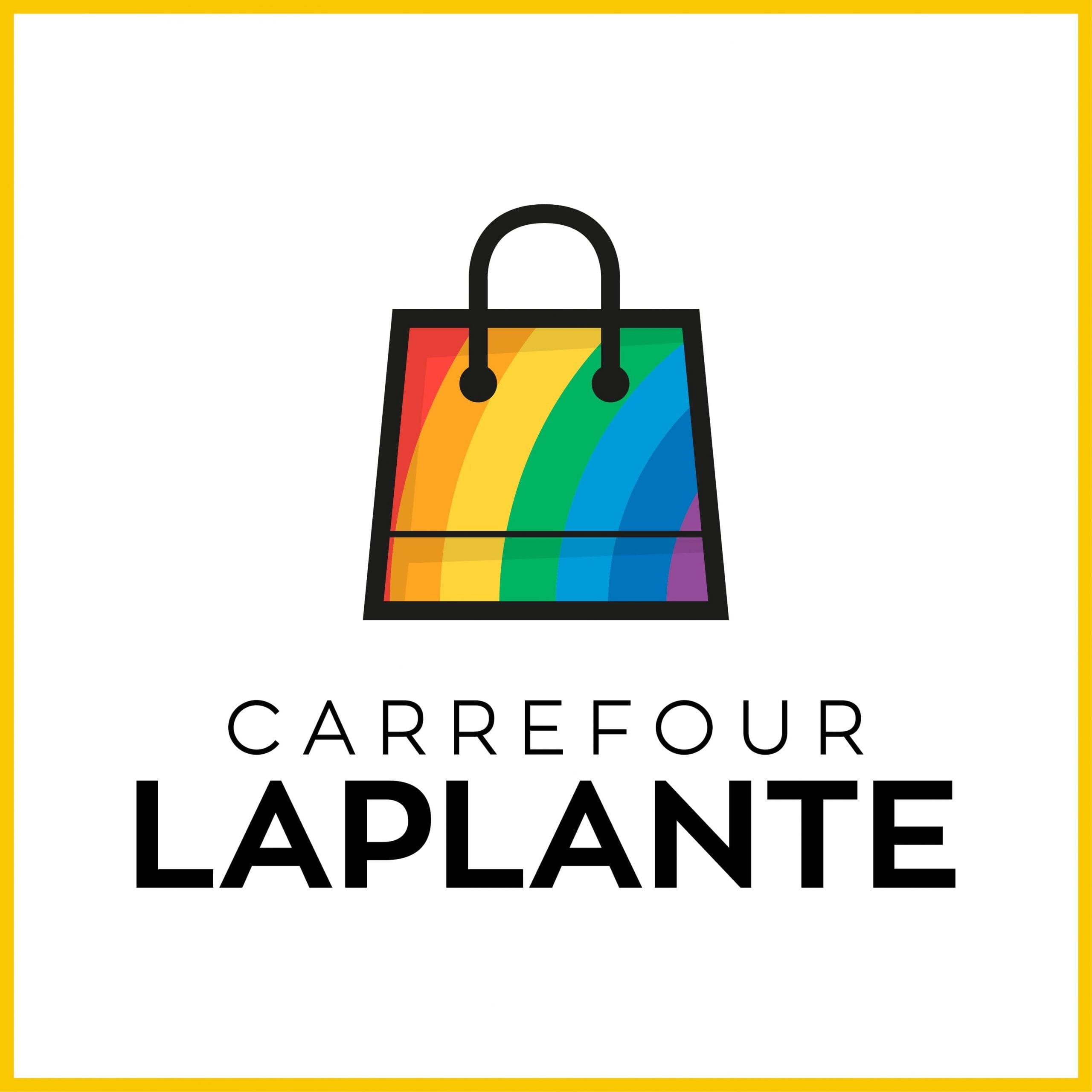 Carrefour Laplante - Adaptation de logo