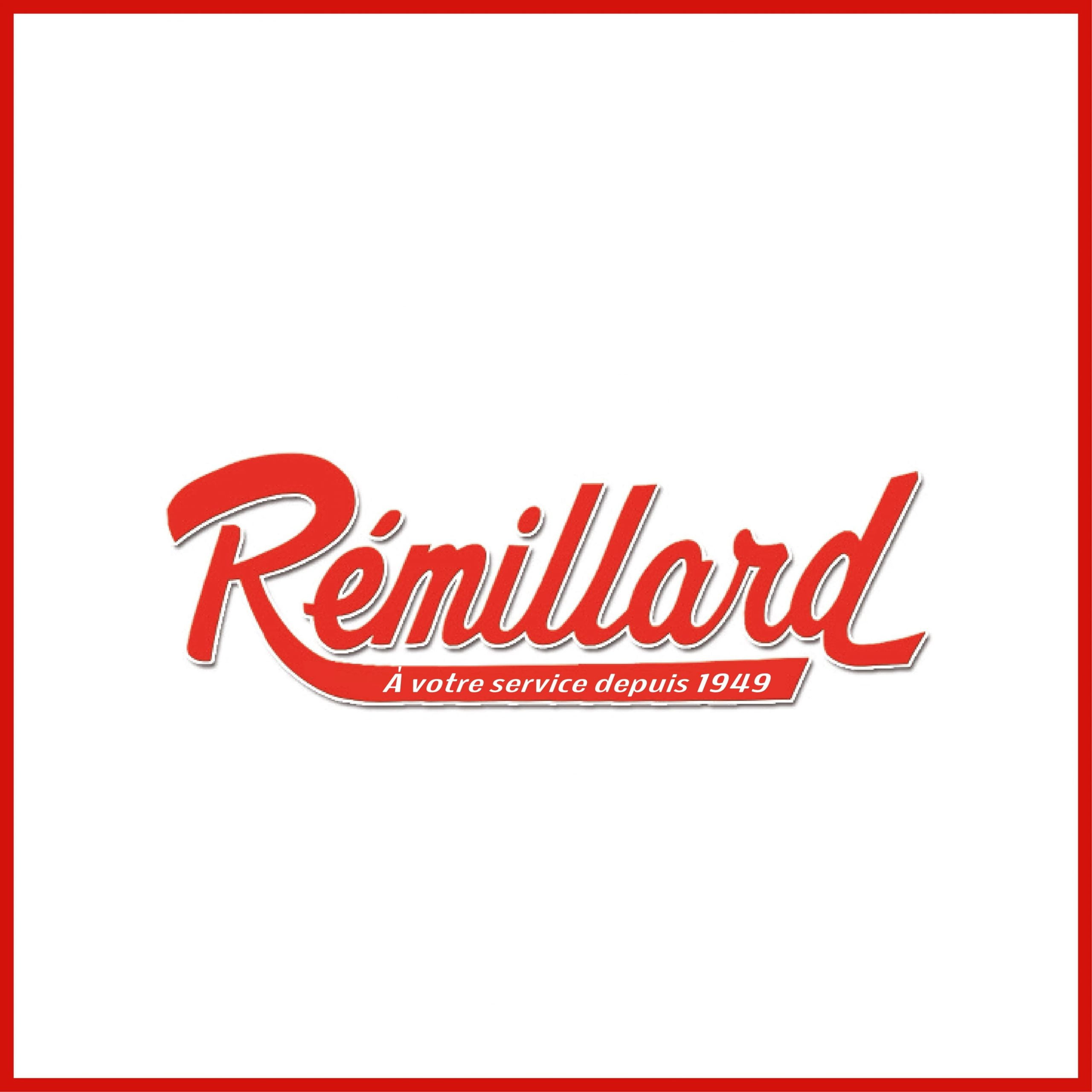 Maison Rémillard - Modernisation de logo