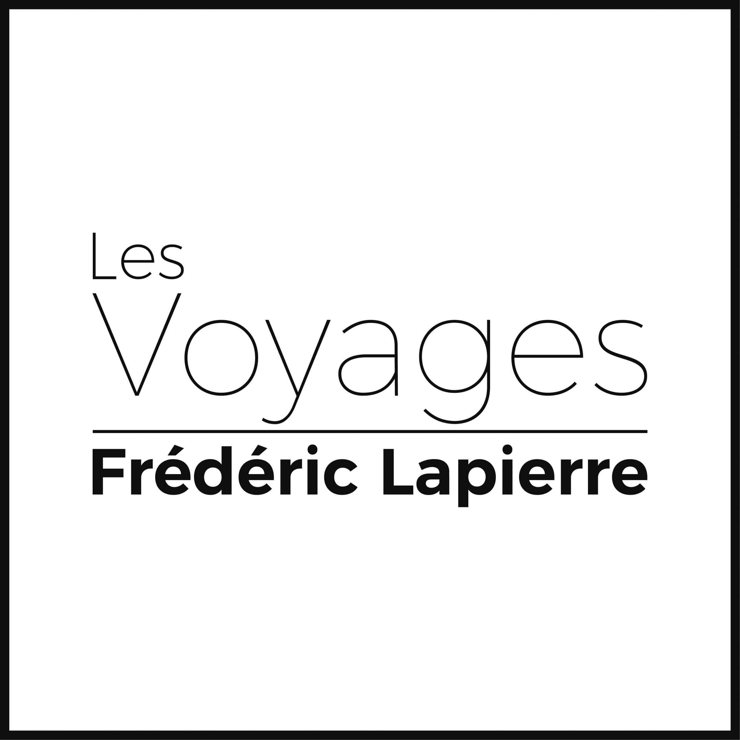 Voyages Frédéric Lapierre - Modernisation de logo