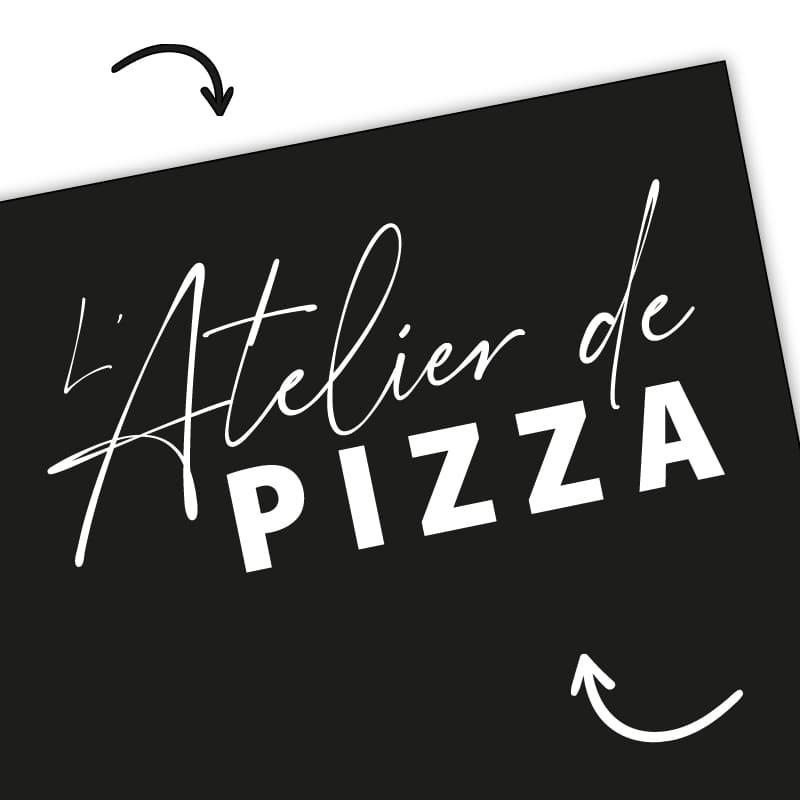 L'Atelier de Pizza - création image de marque