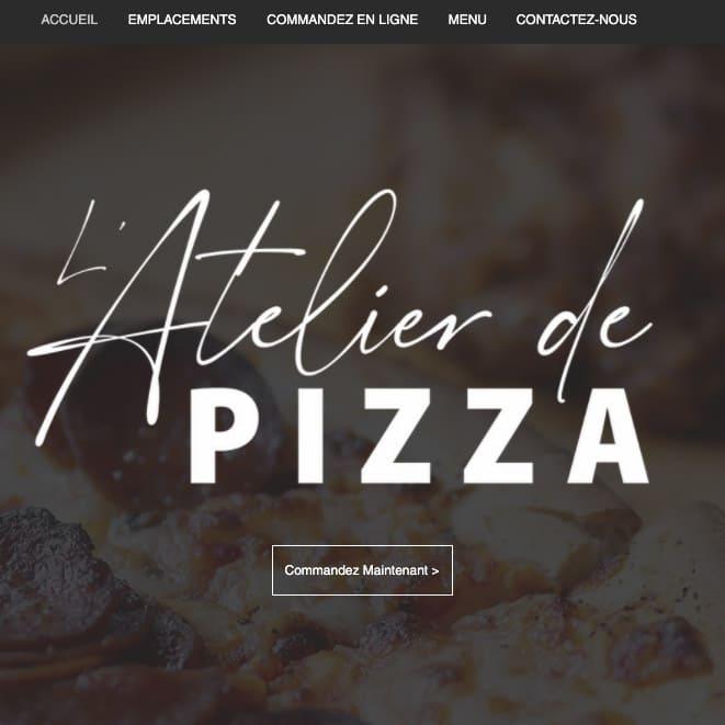L'atelier de pizza - logo